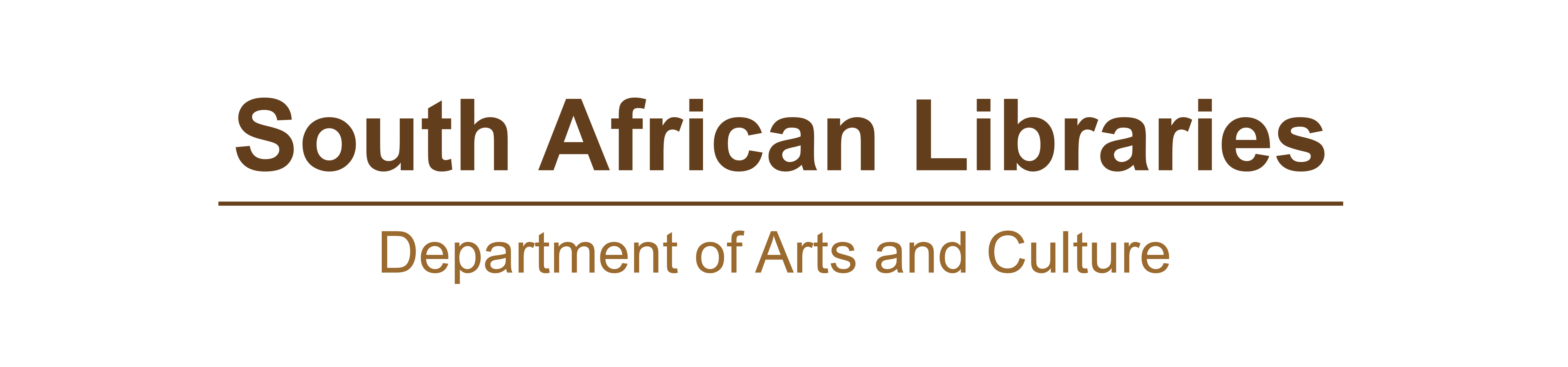 South African Libraries Logo..
